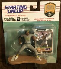 Oakland A's Athletics Dave Stewart Starting Lineup Action Figure New SGA 6/30/18