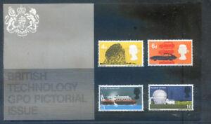 Great Britain 1966 British Technology presentation pack, fane (2020/07/19#14)
