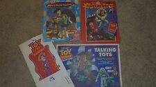Toy Story Fast Food collectibles Bags, booklets and tray liner, Lot of 6