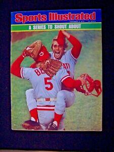 Sports Illustrated 1975 Cincinnati Red World Series Champs No Label
