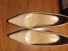 Talbots Patent leather Nude kitten heel pumps. Worn once!