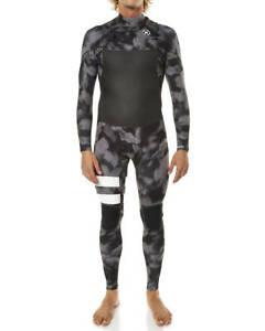 HURLEY Men's 202 PHANTOM CZ Wetsuit - Black A - Large Short - NWT