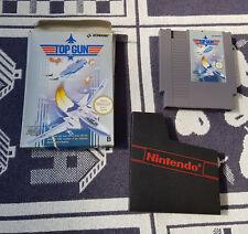 Nintendo NES juego con embalaje original Top Gun
