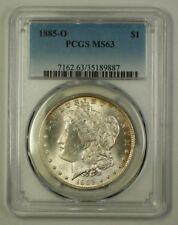 1885-O US Morgan Silver Dollar Coin $1 PCGS MS-63 (A) (18)