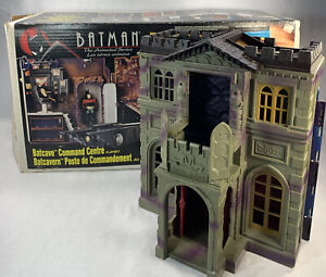 Kenner Batman The Animated Series Batcave Command Center Playset w Box Incomplet