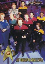 Star Trek Voyager Profiles  1998 Trading Card Set (90 Cards + Bonus )