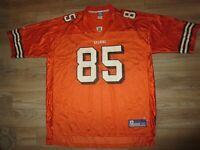 Cleveland Browns #85 Johnson Football Reebok NFL Jersey 2XL 2X mens