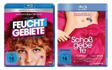 2 Blu-rays * Charlotte Roche - Feuchtgebiete + Schoßgebete im SET  # NEU OVP =