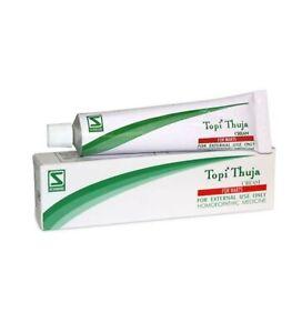 Topi Thuja Cream 25 gm Dr Willmar Schwabe Free Shipping