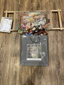 dmc tapestry kit With Loom And Wool