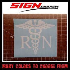 Registered Nurse Decal / Sticker RN
