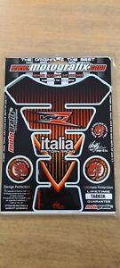 MOTOGRAFIX GENERIC ITALIA FACTORY RACING TANK PAD NEW