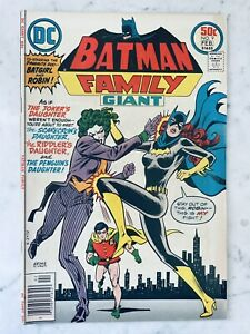 BATMAN FAMILY #9-1ST JOKER'S DAUGHTER COVER-DUELA DENT-PENGUIN'S DAUGHTER VF 8.0