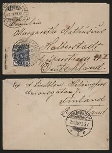 Finland 1897 - Cover to Germany I616