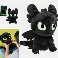 Dreamworks How To Train your Dragon Squeeze & Roar Toothless Plush Cuddly Toy