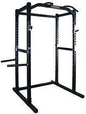 POWERTEC Power Rack WB-PR16 Squat Cage Bench Press Home Gym Fitness