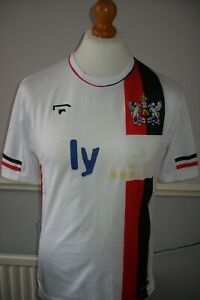 SMALL EXETER CITY VINTAGE CABRINI 2010 - 2011 AWAY SHIRT