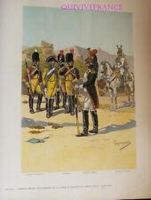 PL092 - PLANCHE TANCONVILLE - GENDARMERIE DE LA GARDE & DRAGONS  1805-1815