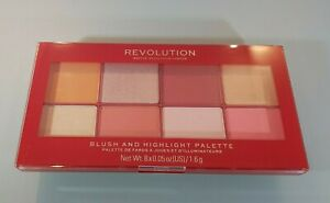 Revolution - Blush and Highlight Palette - BRAND NEW