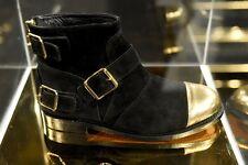 BALMAIN H&M Suede Boots Size 8