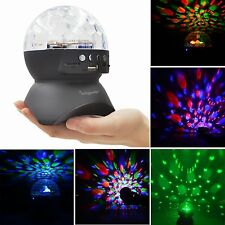Autism Sensory LED Lights Projector Special Educational Needs Rotating Ball Lamp