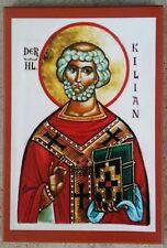 EASTERN ORTHODOX CHRISTIAN ICON OF ST. KILLIAN