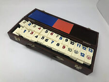 Rummikub Vintage Pressman Tournament Tile Game Missing 2 tiles
