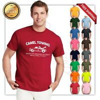 all new Camel Towing Funny T Shirt Adult Humor Rude Gift Tow Truck Unisex Tee