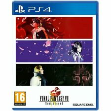 Final Fantasy VIII 8 Remastered PS4 UK New Game Eng PLAYSTATION 4 Available