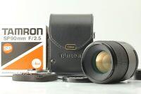 Emballé 【 près de Mint 】 Tamron Sp 90mm F/2.5 Macro 52BB Verre pour Nikon Japon