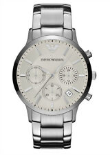 Emporio Armani Quartz White Dial Men's Analog Watch AR2458