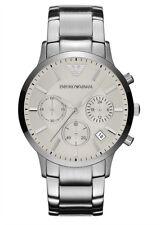 Emporio Armani Quartz White Dial Men's Analog Watch AR2458