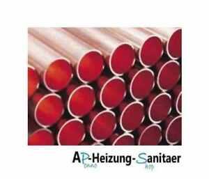 Kupferrohr halbhart oder hart in 5m Stangen 12-54 mm