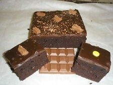 Home Made CHOCOLATE FUDGE CAKES x2 Large   Free Postage   Family bakery Shop