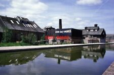 PHOTO  1986 MARSTON CHESHIRE LION SALT WORKS THIS WAS THE YEAR THAT THE SITE CLO