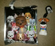 Disney 3D Figural Dogs Blind Bag Clip Exclusive A Thunderbolt Keyring Key-Chain
