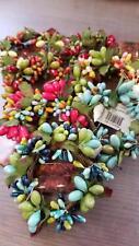 """PIP Berry forma cónica Servilleta o Vela Anillo 1 1/4"""" Variedad De Colores, Envío Gratis"""