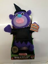 Sing A Ma Jigs Singing Plush Toy Witch Halloween Target Exclusive 2011 TOTY