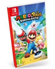 Mario + Rabbids Kingdom Battle PAL ESPAÑA SWITCH ESPAÑOL NUEVO PRECINTADO FISICO