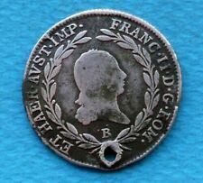 M57.Franc II .1805 AD.Austrian empire 20 kreuzer .Silver coin