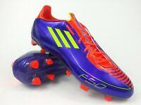 Adidas Mens Rare F30/F50 TRX FG G40285 Purple Orange Soccer Cleats Size 13