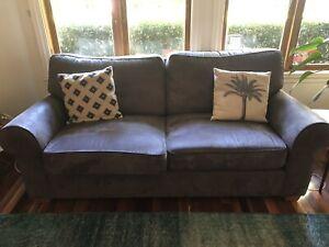 2x 3 Seater Moran sofas