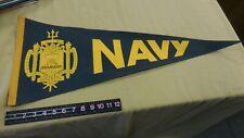 Vintage  Navy College Football Pennant