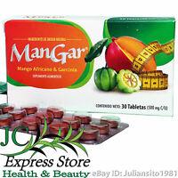 MANGAR AFRICAN MANGO AND GARCINIA MANGO AFRICANO Y GARCINIA 30 TABLETAS 500 MG