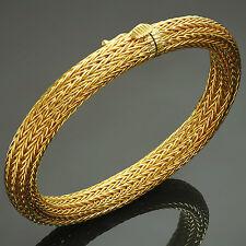 Classic ILIAS LALAOUNIS 18K Yellow Gold Mesh Bracelet