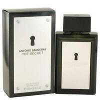 The Secret Cologne by Antonio Banderas 3.4 oz for Men edt Spray New In Box