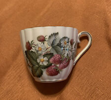 Royal Tuscan Strawberries TEA CUP ONLY Fine Bone China England