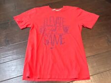 Nike Regular Fit Elevate the Game Basketball T Shirt - Size Small