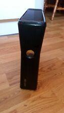 Microsoft Xbox 360 Slim 4GB Black Console Only Fully Working FREEPOST XBOX 360S