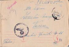 § BATT. NEBBIOGENO ITALIANO IN GERMANIA 23/2/44 - FELDPOST 00448 PER VARESE